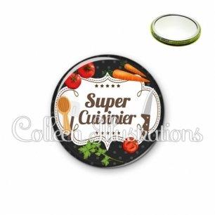 Miroir 56mm Super cuisinier (045NOI04)