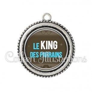 Pendentif résine Le king des parrains (019MAR01)
