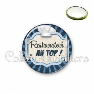 Miroir 56mm Restaurateur au top (048BLE01)