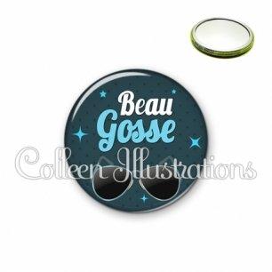 Miroir 56mm Beau gosse (053BLE01)