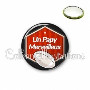 Miroir 56mm Papy merveilleux (055ROU02)