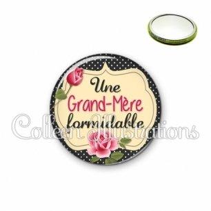 Miroir 56mm Grand-mère formidable (061NOI01)