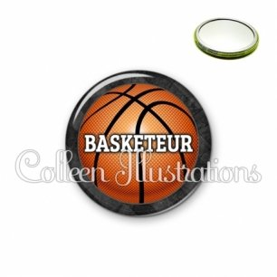 Miroir 56mm Basketteur (062GRI01)