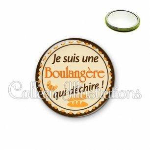 Miroir 56mm Boulangère qui déchire (064MAR01)