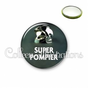 Miroir 56mm Super pompier (072VER01)