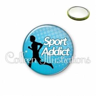 Miroir 56mm Sport addict (082BLE01)