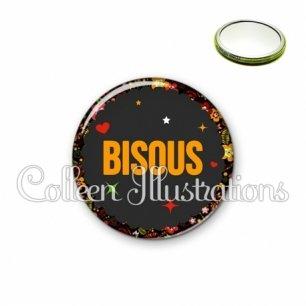 Miroir 56mm Bisous (101NOI01)