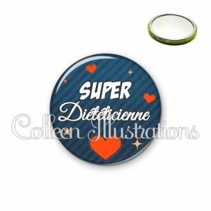 Miroir 56mm Super diététicienne (103BLE01)