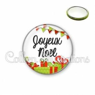 Miroir 56mm Joyeux noël (115BLA01)