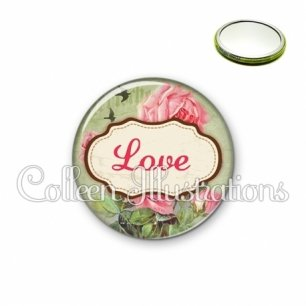 Miroir 56mm Love (143MUL01)