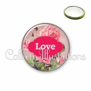 Miroir 56mm Love (143MUL02)