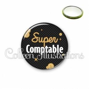 Miroir 56mm Super comptable (158GRI01)