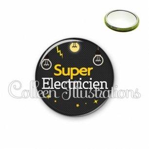 Miroir 56mm Super électricien (159GRI01)