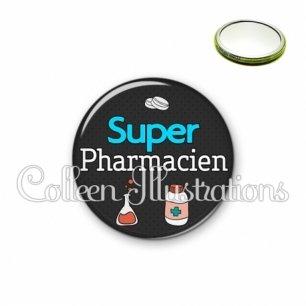 Miroir 56mm Super pharmacien (166GRI01)