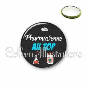 Miroir 56mm Pharmacien au top (166GRI01)