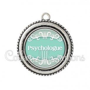 Pendentif résine Psychologue (021VER01)