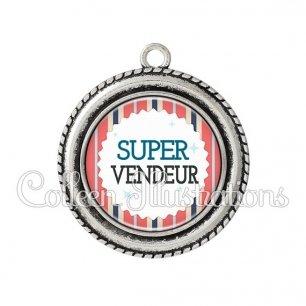 Pendentif résine Super vendeur (028MUL01)
