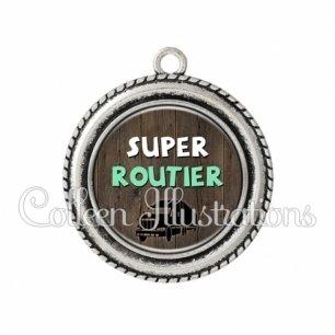 Pendentif résine Super routier (086MAR01)