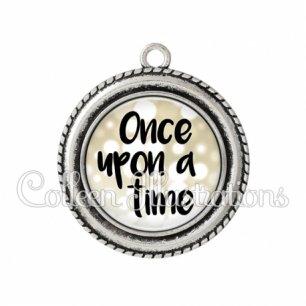 Pendentif résine Once upon a time (087MAR02)