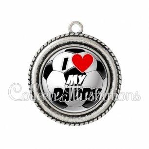 Pendentif résine I love my daddy (089MUL01)