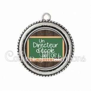 Pendentif résine Directeur d'école au top (104MAR01)