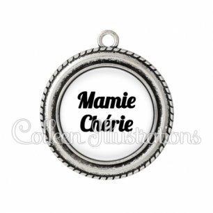 Pendentif résine Maman chérie (181BLA11)