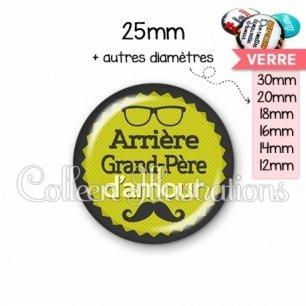 Cabochon en verre Arrière grand-père d'amour (024VER01)