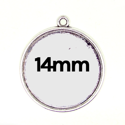 Pendentif simple 14mm