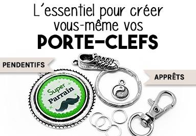 L'essentiel pour créer vous-même vos porte-clés